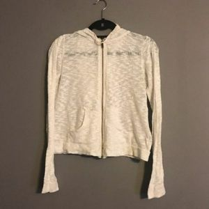 White Sheer Jacket Hippie Boho Anthropologie Urban